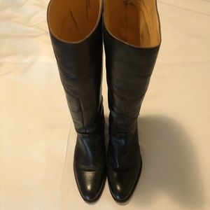 Frye Tall Leather Boots Size 10